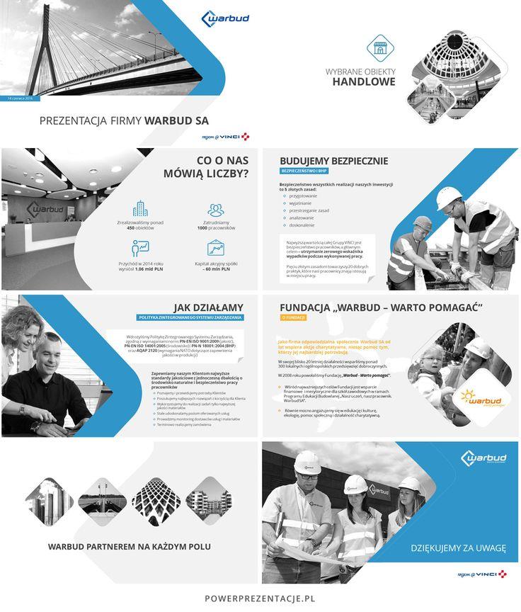 Prezentacja w PowerPoint dla firmy Warbud