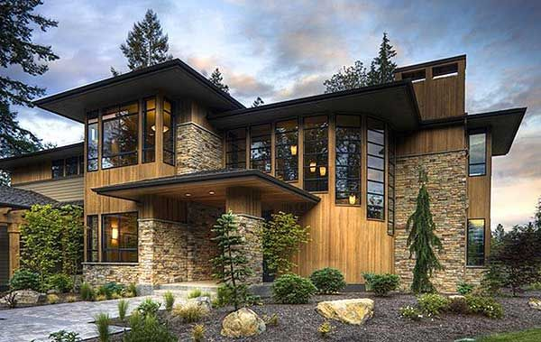 Above And Beyond - 23480JD | Contemporary, Modern, Northwest, Prairie, Luxury, Photo Gallery, Premium Collection, 2nd Floor Master Suite, Bonus Room, Butler Walk-in Pantry, CAD Available, Den-Office-Library-Study, PDF | Architectural Designs