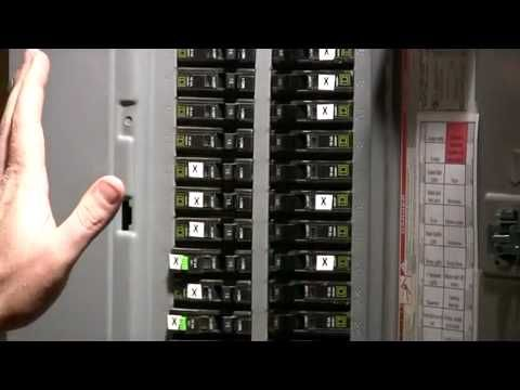 how to build wire from generator to a transfer switch