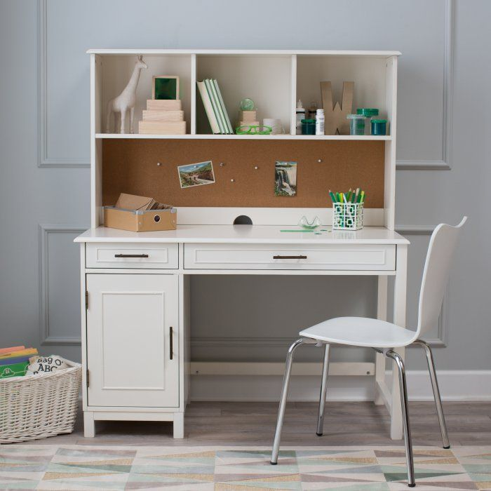 Classic Playtime Bennington Desk With Optional Hutch And
