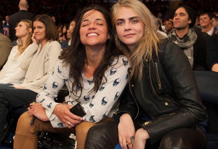 La relación de Cara Delevingne y Michelle Rodriguez en fotografías