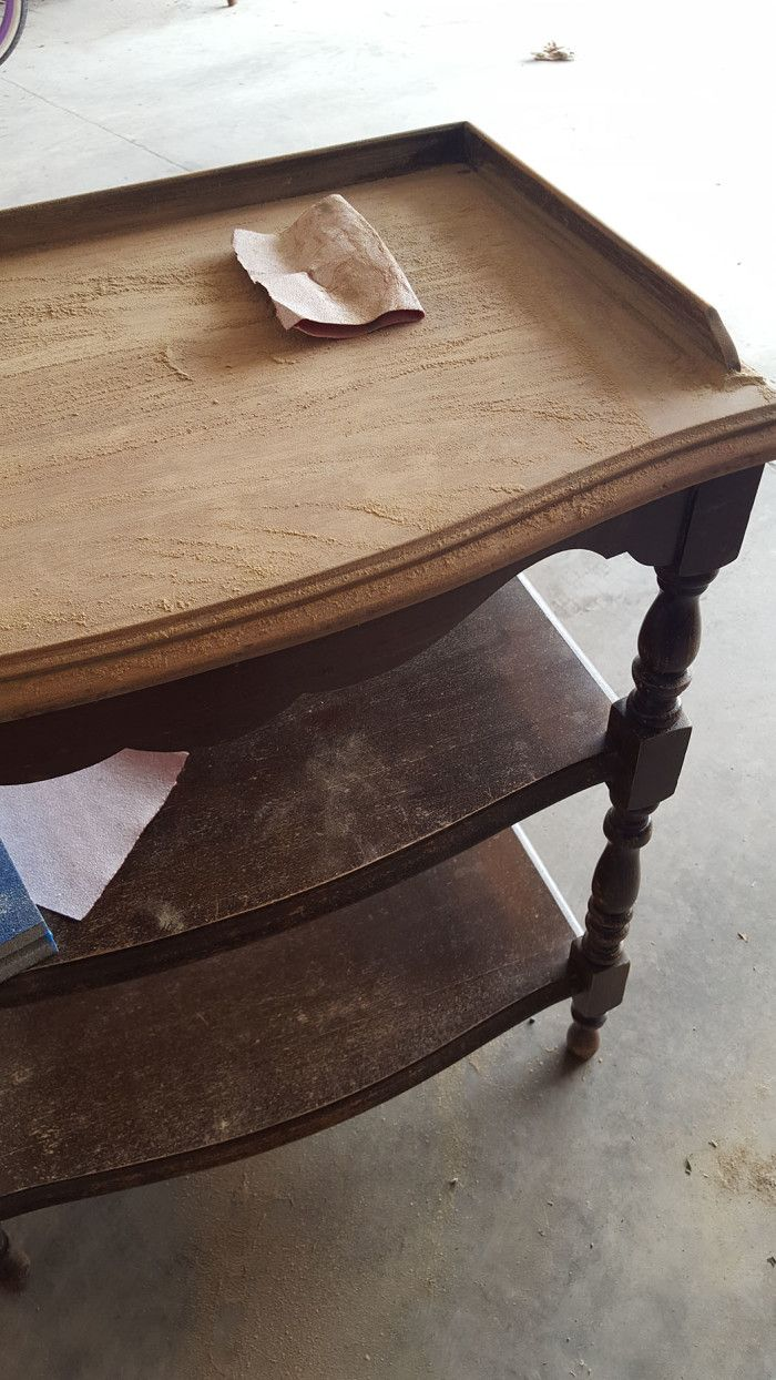 this $10 table got a DIY makeover and now it looks like a million bucks! Love the results. Click for after images