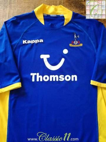 Official Kappa Tottenham Hotspur away football shirt from the 2005 06  season. 3d84a694b