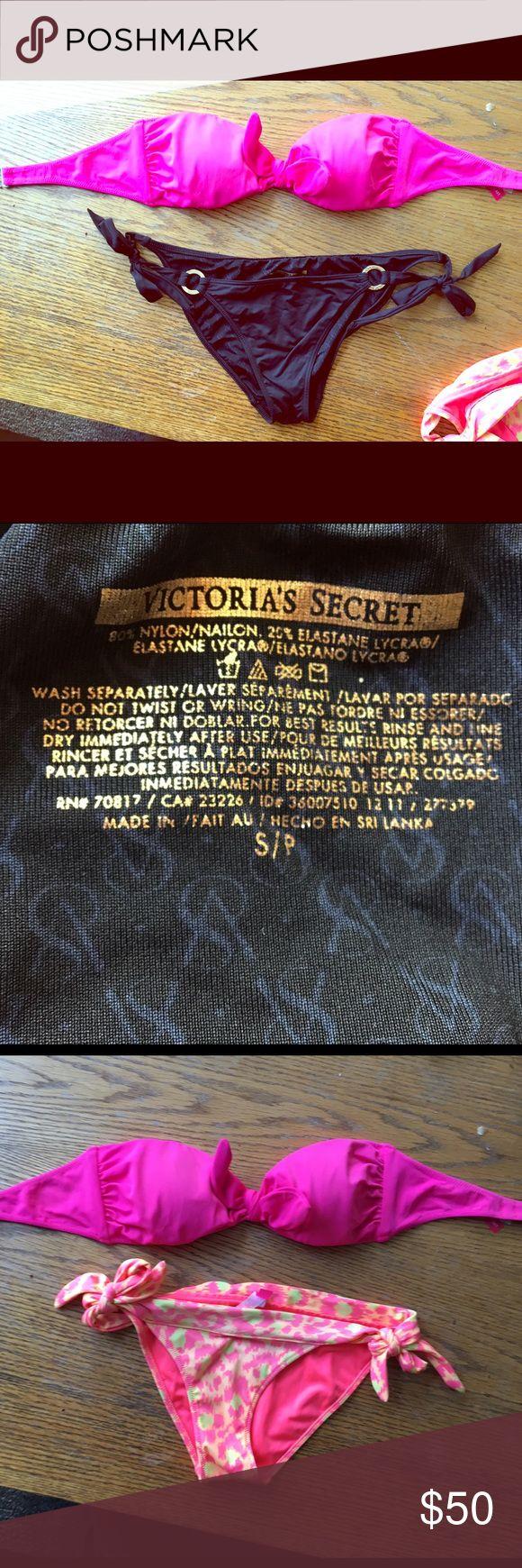 VS bikini set All worn down in Mexico 🇲🇽 never worn again Victoria's Secret Swim Bikinis
