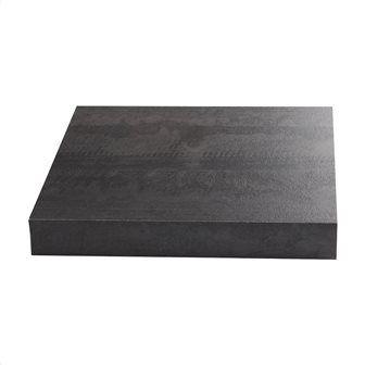 Πάγκος κουζίνας Μ315xΒ65xΠ3.8 cm εφέ ξύλου vintage μαύρο Κωδ: 62038963 129,00 €