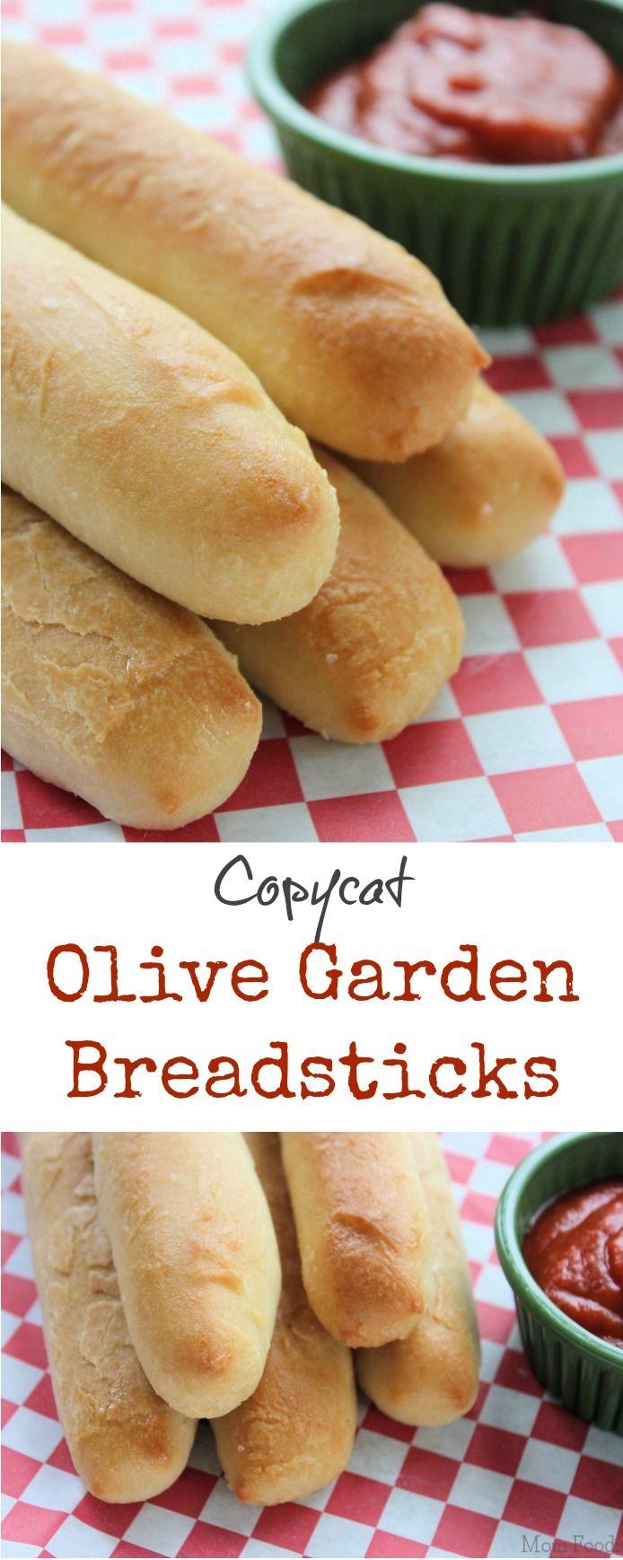 Copycat Olive Garden Breadsticks Recipe Gardens Olives And Homemade