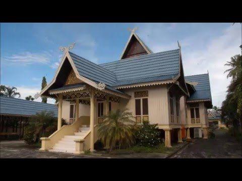 Desain Rumah Adat Pekanbaru Riau