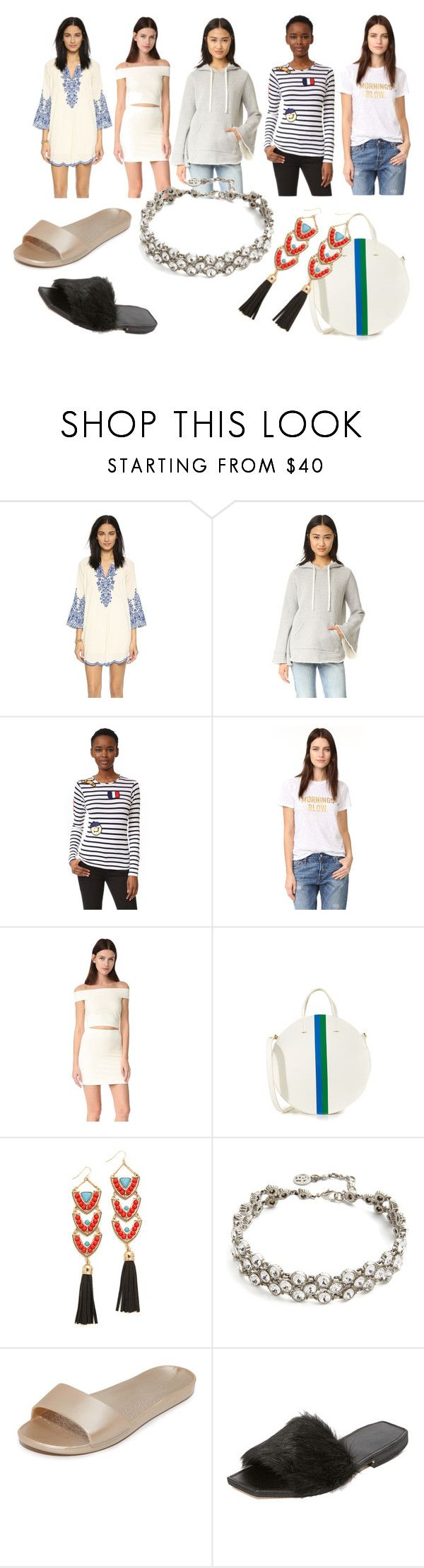 """""""summer special"""" by monica022 ❤ liked on Polyvore featuring Love Sam, Clu, Michaela Buerger, Drybar, Clare V., Adia Kibur, Ben-Amun, Soak, Parme Marin and vintage"""