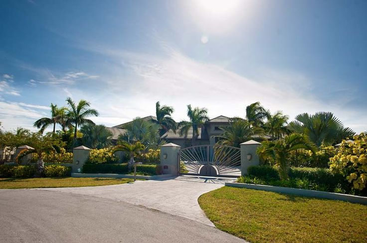 Fortune Bay Canal Home on Grand Bahama Island  Waterfront Island Style Living at its Best This grand estate sits on a large 1.2 Acre lot. This exquisite home is offered for $4,599,000 or with the 3 adjacent lots the package is being offered for $5,499,000. Home sits on Lot 55A, adjacent lots to the left, lots 51 A & 52A and adjacent lot to the right, lot 56A also available for an additional $900,000.  Coldwell Banker James Sarles Realty  #Bahamas #Luxury #Homes #Waterfront #Estate…