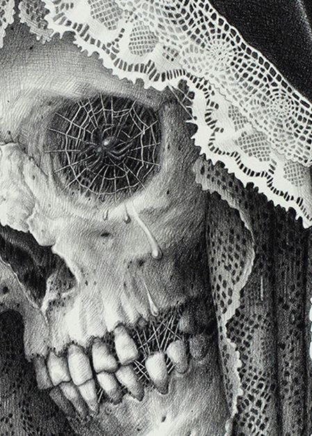 "by Laurie Lipton – ""Carnival of Death"""