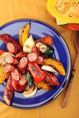 Warzywa grillowane z Kiełbasą ostrołęcką ZM Pekpol