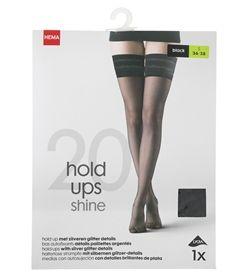 2-pack Mat Nylon Knee-socks (Black) HEMA Discounts Cheap Online Sale F2DjlNplOA