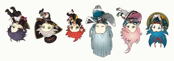 Touken Ranbu 刀剣男士を逆さまにした画像まとめ【宙ぶら刀】 : とうらぶnews【刀剣乱舞まとめ】