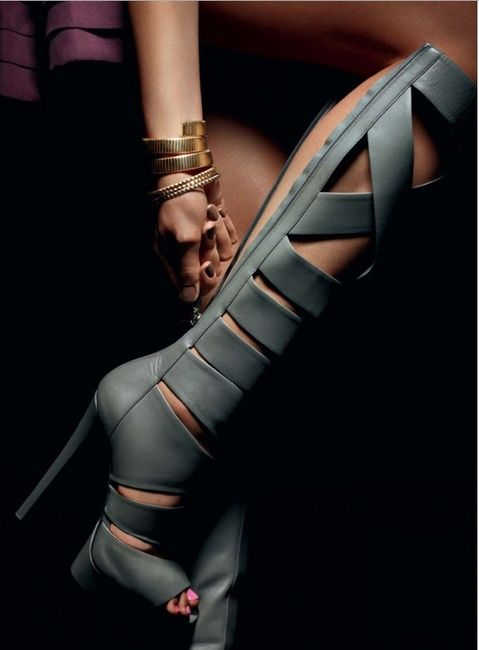 Gucci boots - 100 Gorgeous Shoes From Pinterest For S/S2014 - Style Estate -