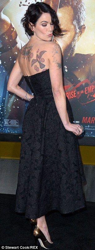 I just love Lena Headey's tattoos so much!
