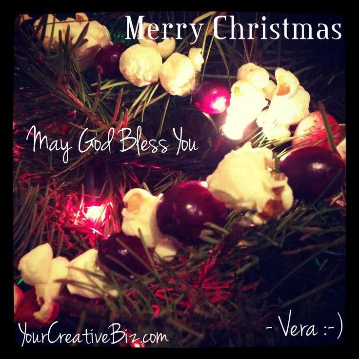 Merry Christmas from us at YourCreativeBiz.com @yourcreativebiz