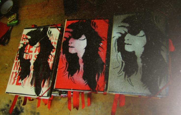 Custom notebooks for Rebekka Karijord