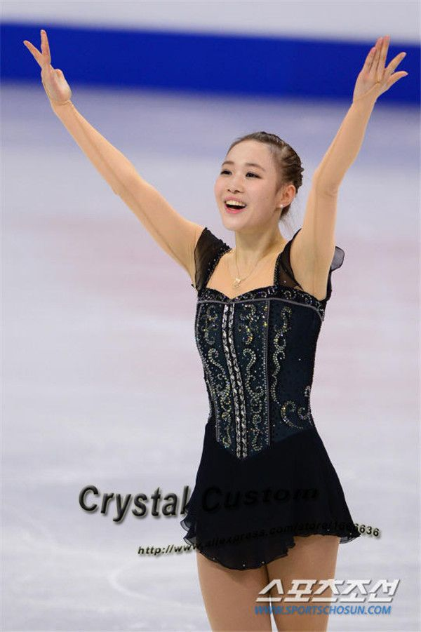 Aliexpress.com : Buy Custom Black Figure Ice Skating Dress With Spandex Fashion New Brand Figure Skating Competition Dresses DR3407 from Reliable dress coral suppliers on Crystal Professional Custom Figure Skating Dresses Store