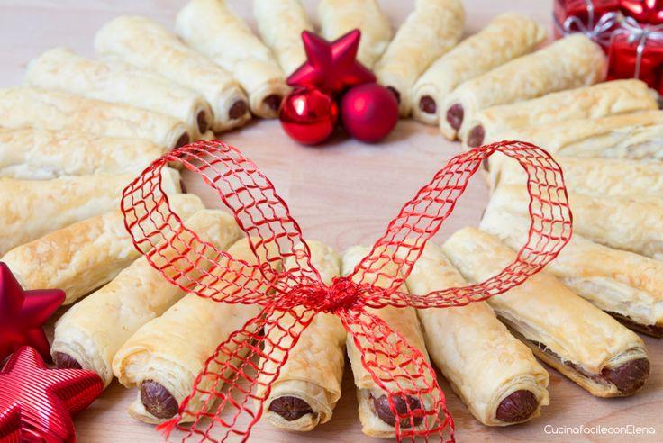 La Ghirlanda di Natale è una ricetta facilissima e veloce che ho pensato in viste delle festività natalizie, è buonissima, tutti ne prenderanno un pezzetto.