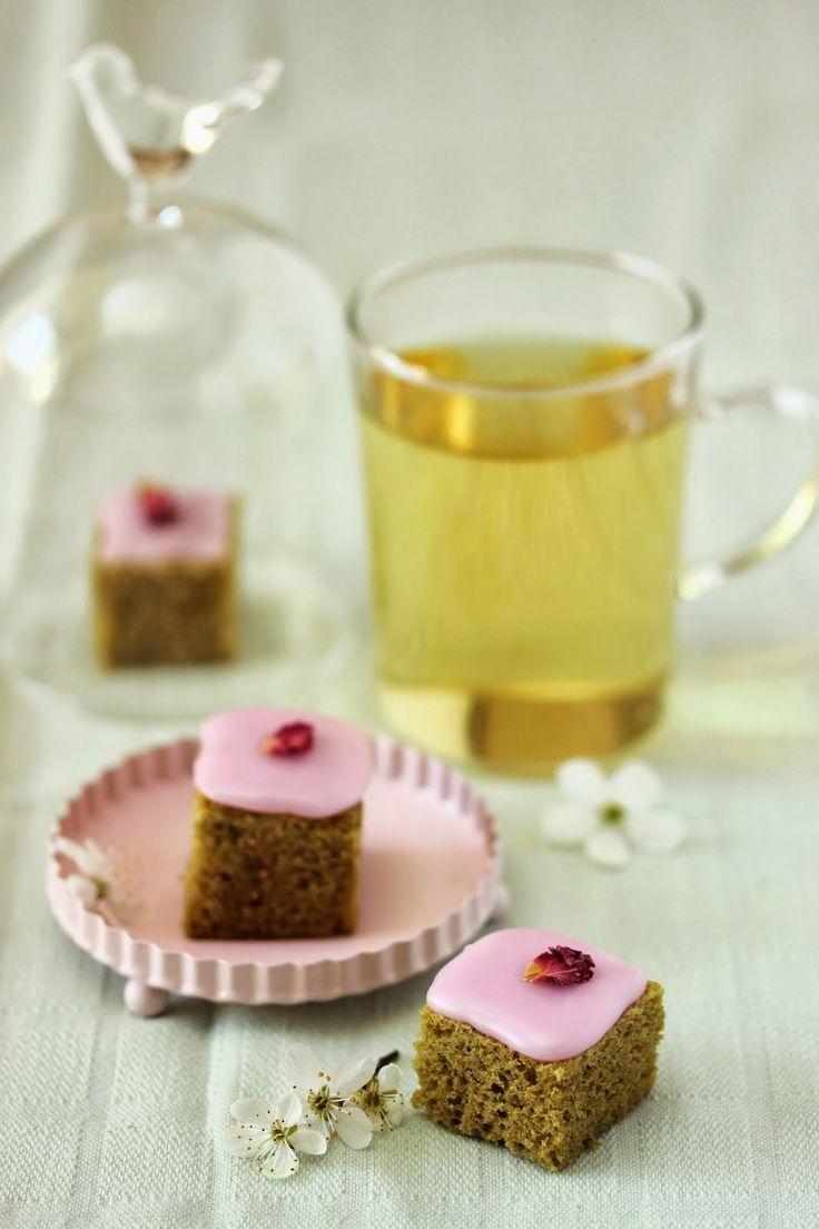 Dans la cuisine de Sophie: Bouchées de printemps au thé matcha