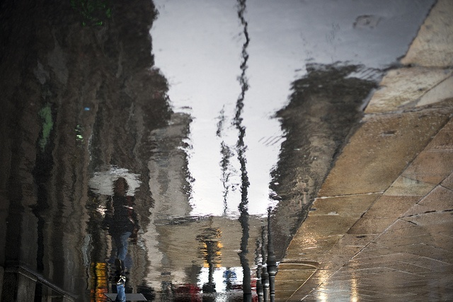 Rain reflection by angelocesare, via Flickr