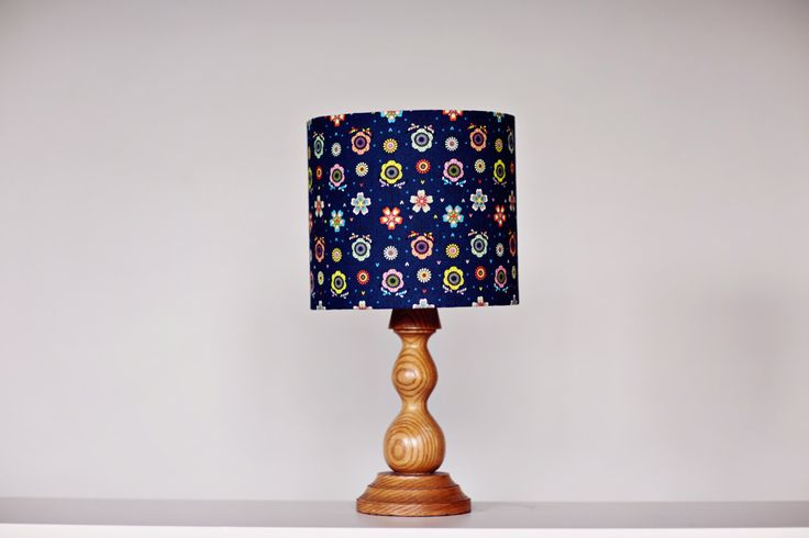 A personal favourite from my Etsy shop https://www.etsy.com/uk/listing/240816636/navy-blue-lamp-shade-floral-lampshade