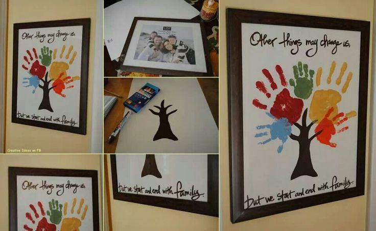 Cute FAMILY TREE IDEA!