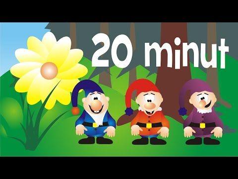 Piosenki dla dzieci -zestaw 20 minut - YouTube