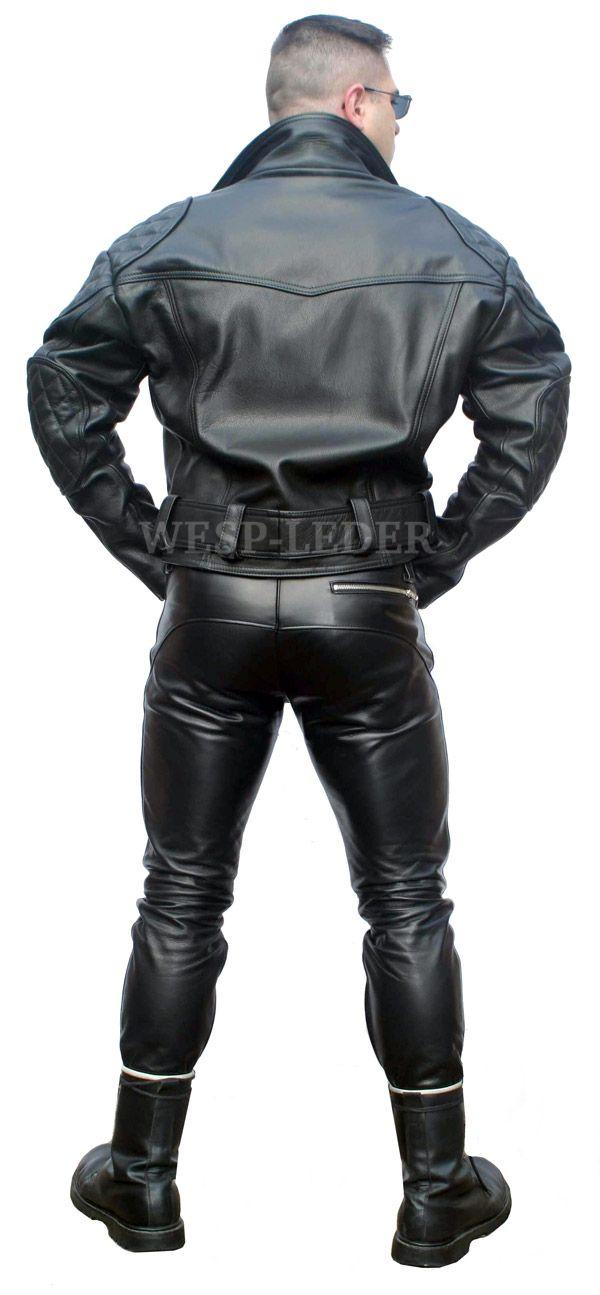 Eng schwarz lederhose herren Herrenlederhosen &