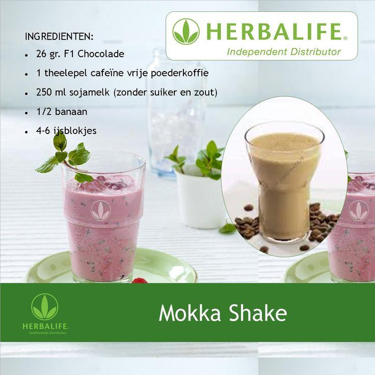 Mokka shake recept #herbalife