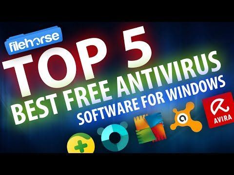 Top 5 Best Free AntiVirus Software For Windows - YouTube
