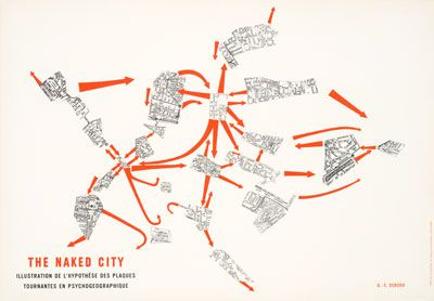 The Naked City | Debord | Collection Frac Centre