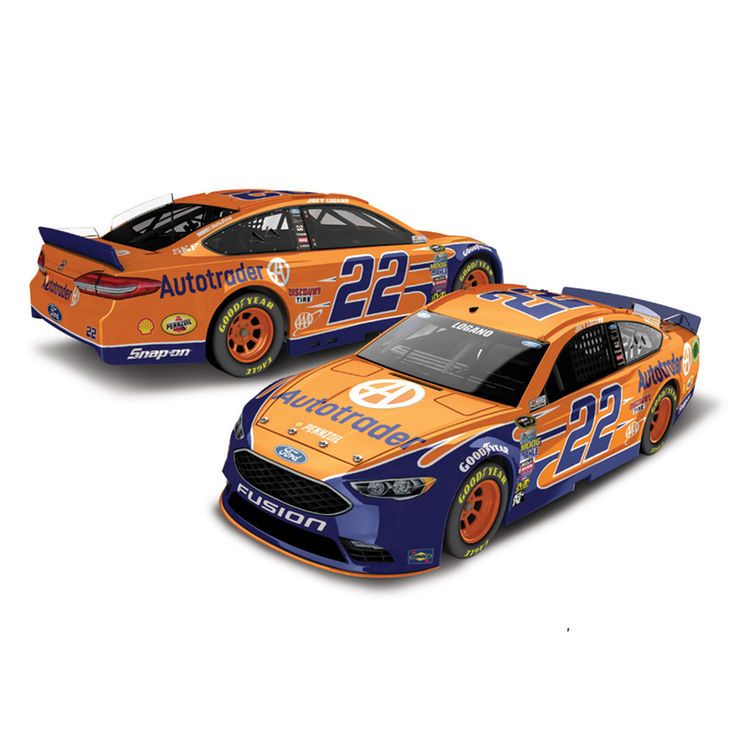 Joey Logano Action Racing 2016 #22 Autotrader 1:24 NASCAR Sprint Cup Series Platinum Die-Cast Ford Fusion - $69.99