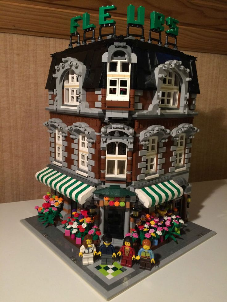 Custom Lego City Modular Building Instructions Ebay Pictures to ...