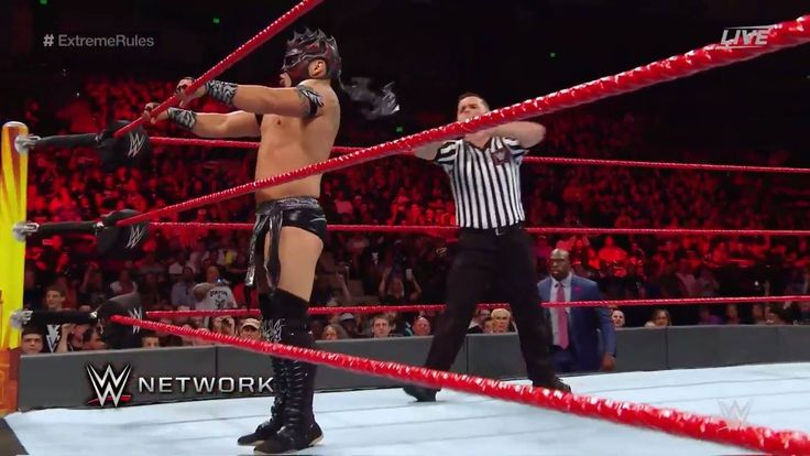 Can Apollo Crews find some way to slow down Kalisto?!  WWE Extreme Rules Kickoff rolls on, streaming LIVE on WWE Network!