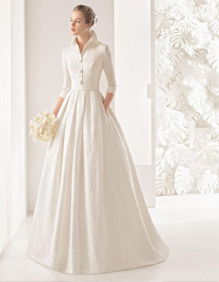 Robe de mariée d'hiver rétro – 22 robes de mariée d'hiver éblouissantes