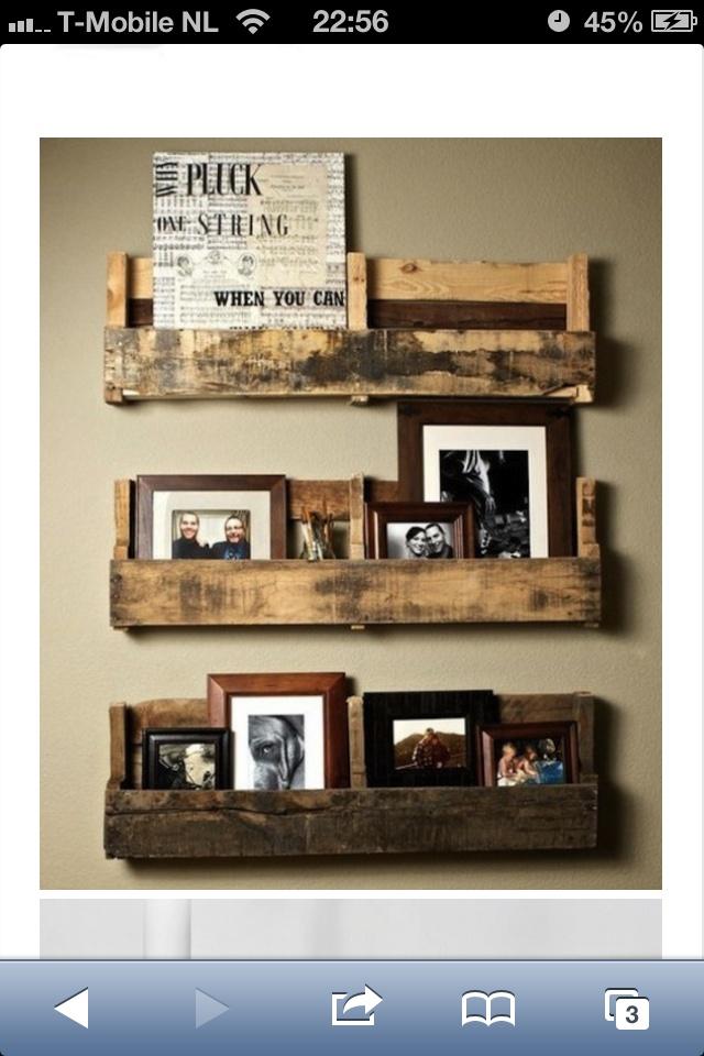 Foto's, decoratie aan de muur