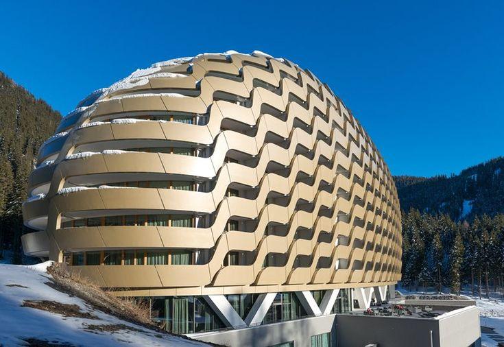 New InterContinental Davos Hotel, Gersthofen, 2014 - Oikios