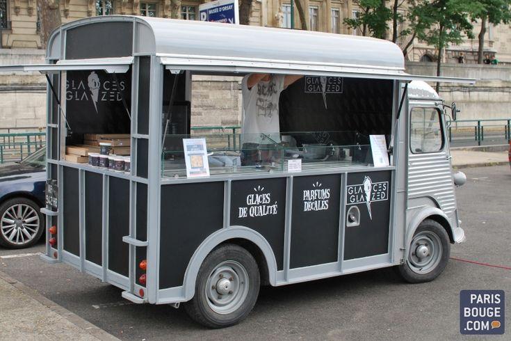 food trucks | Glaces Glazed : le premier food truck parisien dédié aux glaces !