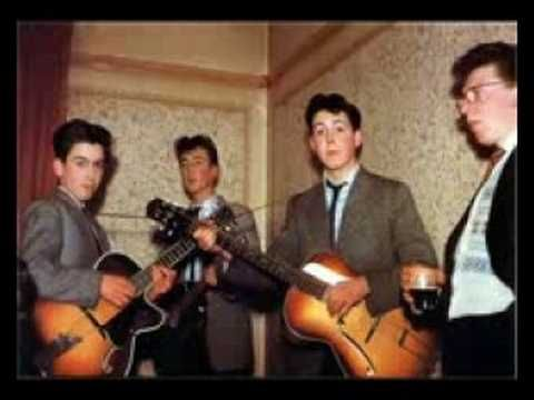 The first song ever recorded by The Quarrymen(Pre-Beatles) - very cool
