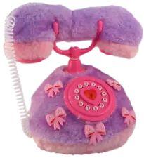 Fuzzy Purple Princess Telephone - Light and Sounds NEW