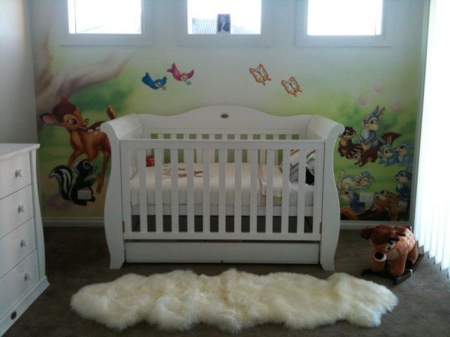 #Bambi #Mural #Nursery