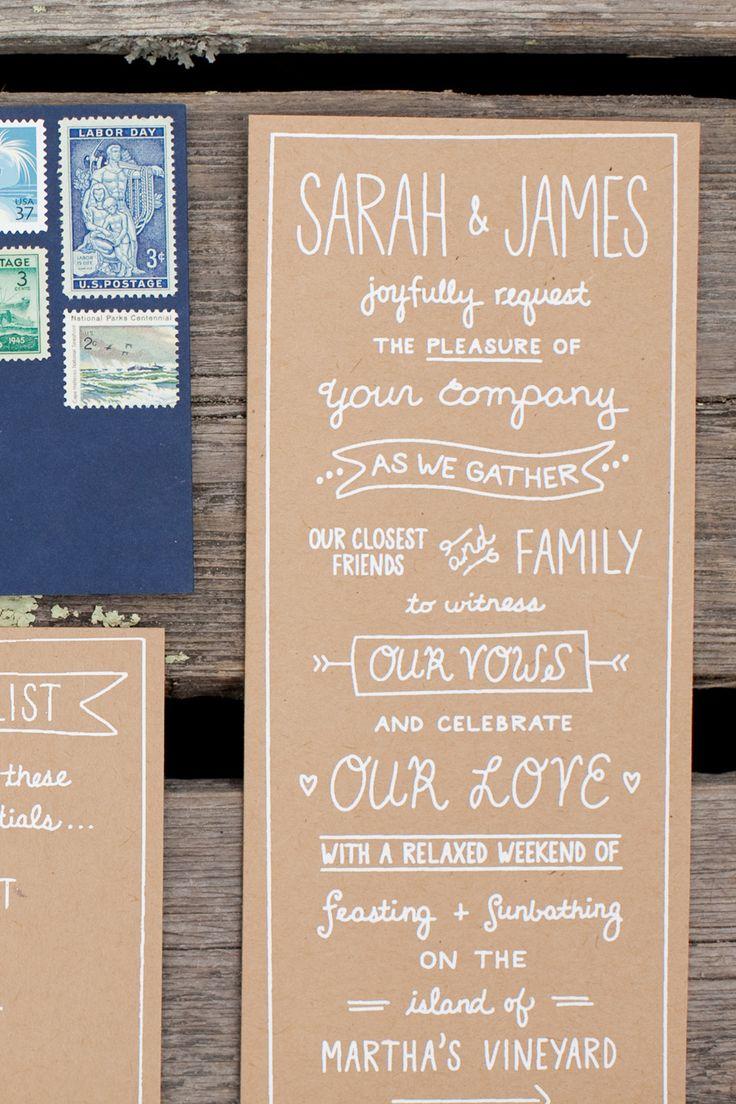 Marthau0027s Vineyard Wedding From Jocelyn Filley Photography. Wedding  Invitation TextWedding Invitation WordingRustic ...