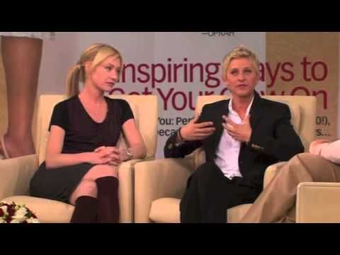 Just a part but the whole thing is on YouTube...such an inspiration their story is...I've had this feeling once in my life as well...Ellen Degeneres and Portia De Rossi on Oprah - PART 4/5 - YouTube