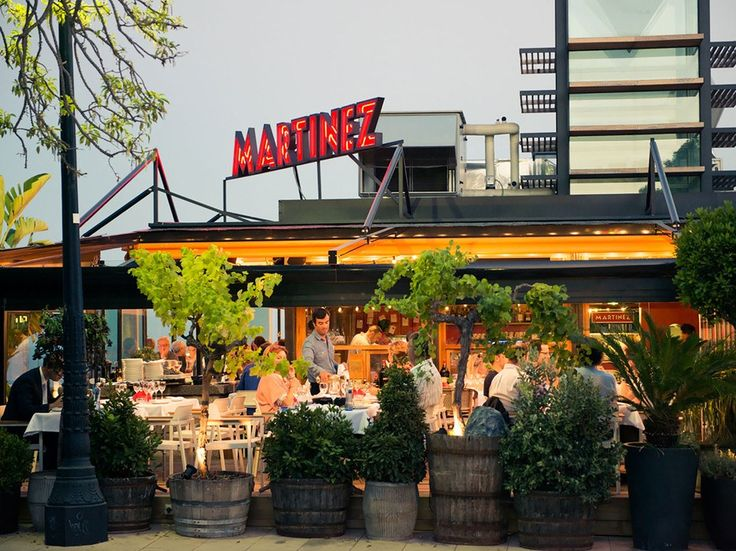 When in Spain, do as the Spanish do and partake heavily in authentic sangria and fresh, local seafood. Terraza Martinez is just the spot to do both––we especially like the cured tuna carpaccio, oysters, burrata, and rice dishes. The open terrace and unobstructed views of Barcelona are a lovely added bonus.