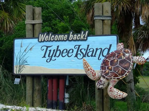 Tybee Island Georgia, one of my favorite places. Beach is clean, you can see the dolphins flip out of the water, whole sand dollars, and celebrities every time.