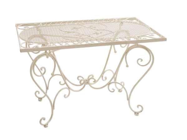 Nostalgie Gartentisch Schmiedeeisen 12 Kg Tisch Loungetisch Antik