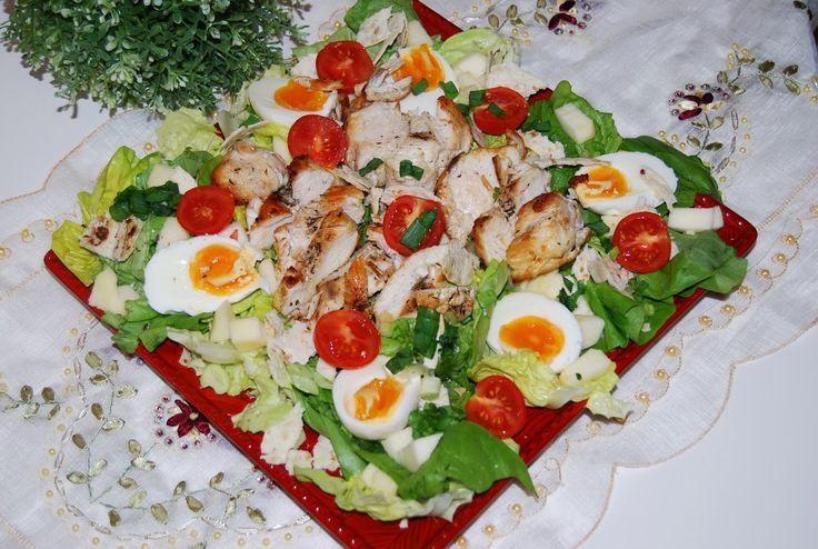 O kuchni z uczuciem : Sałatka Cezar