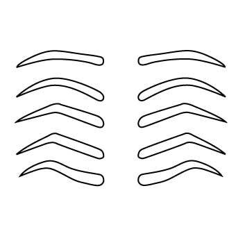 388 best images about design de sobrancelha on pinterest for Drawing eyebrows on paper