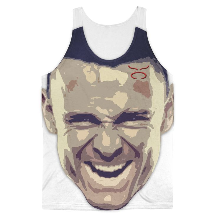 TCA Extreme Cringe Face Graphic All Over Tank Top *LIMITED EDITION*